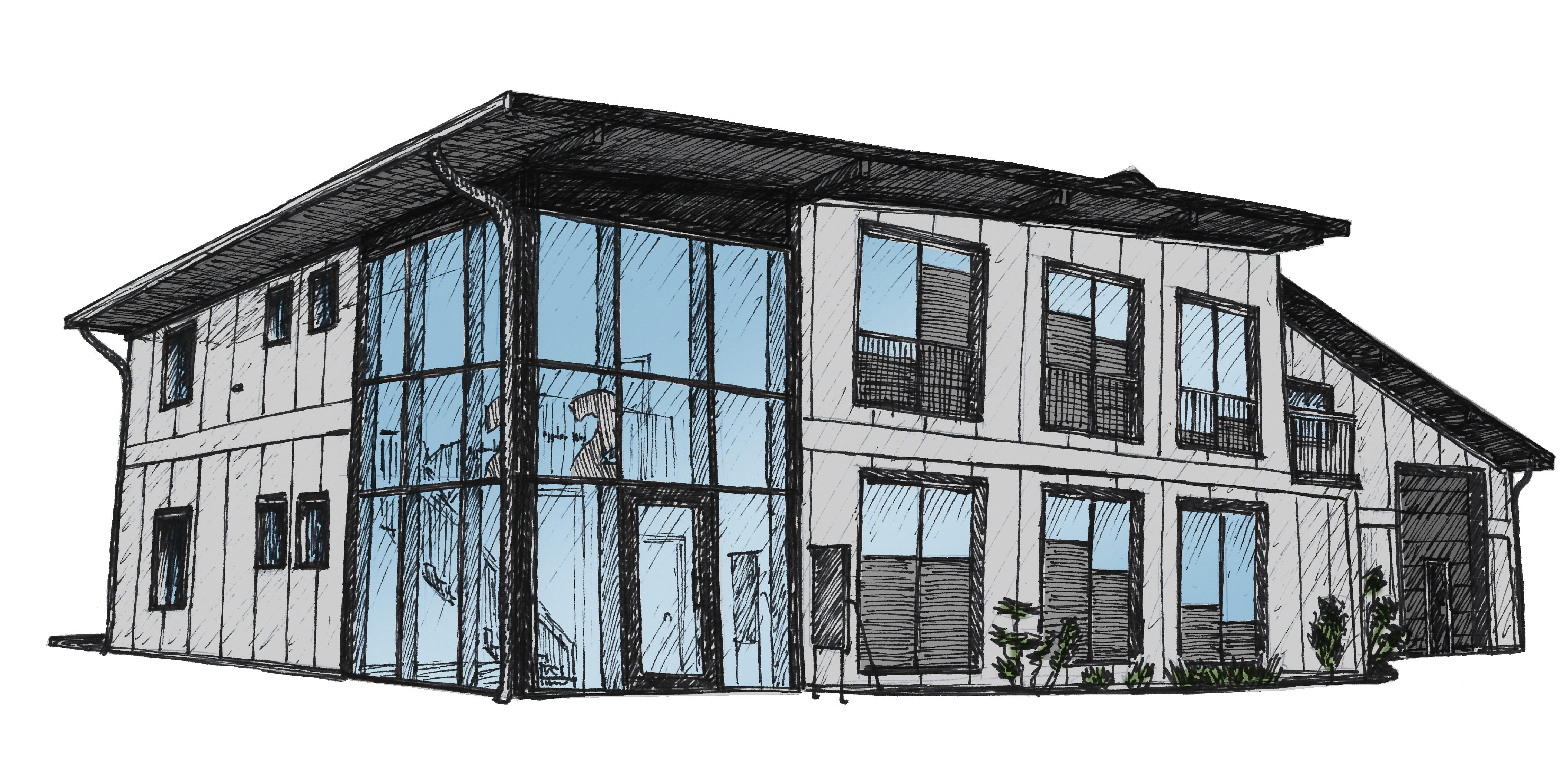 Gebäude Zeichnung